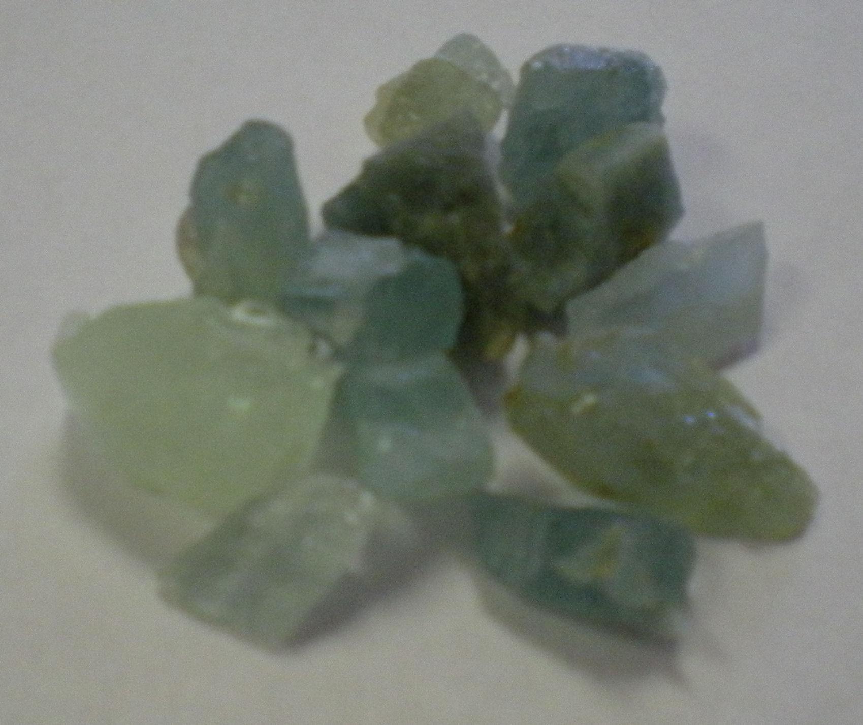 Crystals attract sex